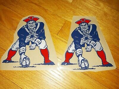 $0.99 • Buy  New England Patriots Modern Throwbacks Football Helmet Decals Full Size
