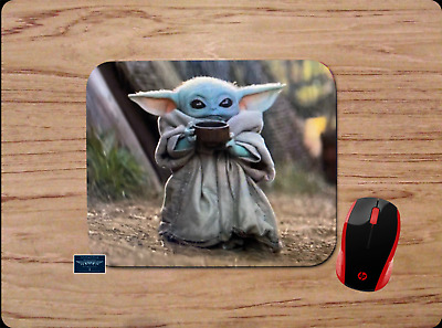 $10.99 • Buy Baby Yoda Mousepad Mouse Pad Home Office Gift Star Wars The Mandalorian