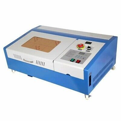 40W CO2 Laser Engraver Cutter Engraving Cutting Machine 300x200mm LCD Display CE • 299.95£