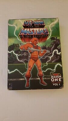 $22 • Buy Masters Of The Universe Dvd Collection