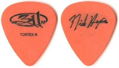 $ CDN15.47 • Buy 311 Nick Hexum Authentic 2001 From Chaos Tour Signature Real Concert Guitar Pick