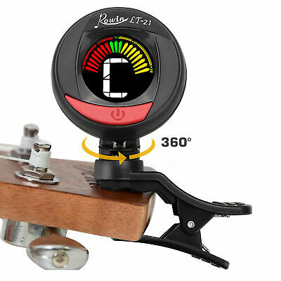 AU18.25 • Buy LCD Clip On Chromatic Acoustic Electric Guitar Bass Ukulele Banjo Violin Tuner