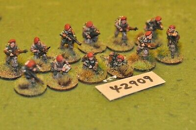 28mm WW2 / British - Paratroopers 12 Figures - Inf (42909) • 60£