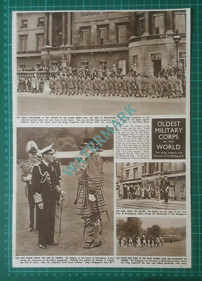 (X486) Yeomen Of The Guard Inspection Buckingham Palace Lord Lucan - 1950 Clip • 10£