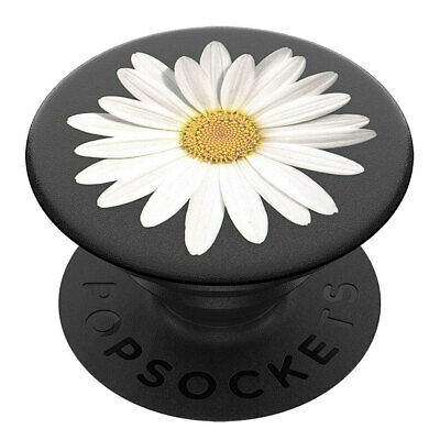 AU18 • Buy PopSockets White Daisy Swappable PopGrip Universal Holder/Stand W/Base F/ Phones