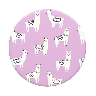 AU15 • Buy PopSockets Swappable Top Lotsa Llama For PopGrip Base Pop Socket Grip/Stand Pink