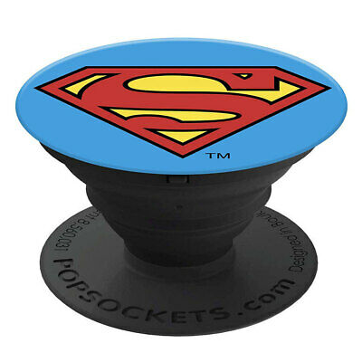 AU18 • Buy PopSockets Superman Swappable PopGrip Licensed Universal Holder W/Base For Phone