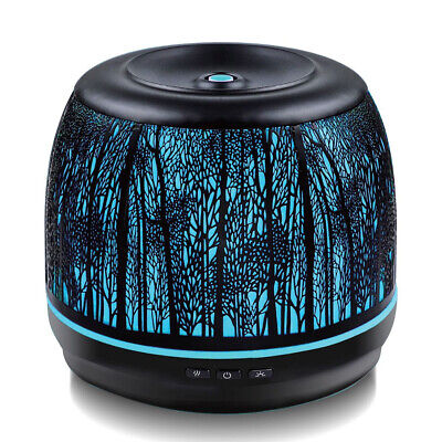 AU69.95 • Buy Activiva Metal 500ml Electric Aroma/Fragrance Diffuser W/ 10ml Essential Oil BLK