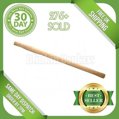 £7.49 • Buy 28  Sledge Hammer Handle Solid Wood Wooden Universal Heavy Duty Long Spare Shaft