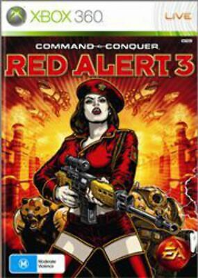AU15.95 • Buy Command & Conquer Red Alert 3 Xbox 360 Game USED
