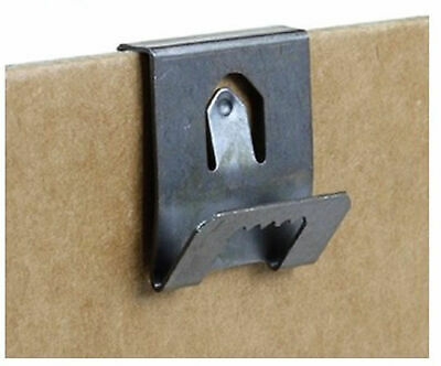 Clip Over Sawtooth Frame Hanger 2-3mm Board Picture Photo Hanging • 2.50£