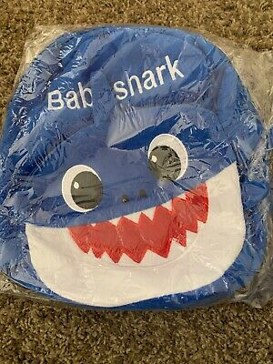 $11 • Buy Baby Shark Backpack Blue Daddy Plush Cartoon Children Kids School Free Shipping