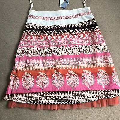 Indian Cotton Skirt Ethnic Boho Hippie NEW With Tags Size 16 £12.50 • 11.50£
