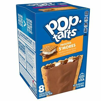Kelloggs Pop Tarts Frosted S'mores - Rare American Import - Box Of 8 • 7.95£