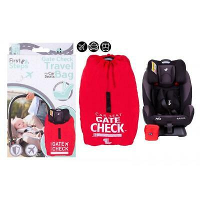 £9.50 • Buy Baby Car Seat Travel Bag Gate Way Check Protector  Standard Car Booster Travel
