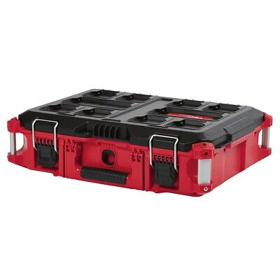 View Details Milwaukee 48-22-8424 PACKOUT Impact Resistant Short Tool Storage Box • 79.97$