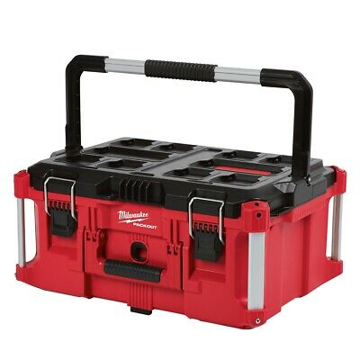 View Details Milwaukee 48-22-8425 PACKOUT Impact Resistant Large Tool Storage Box • 79.97$