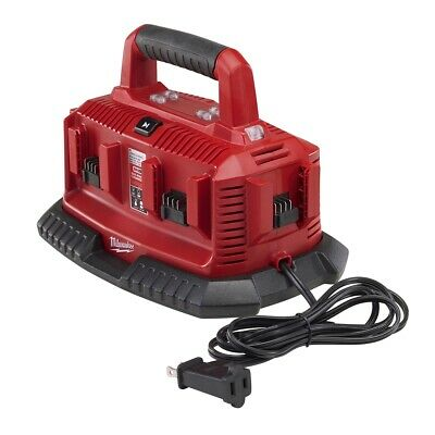$119 • Buy Milwaukee 48-59-1806 M18 6-Port Sequential Compact Charger With Carrying Handle