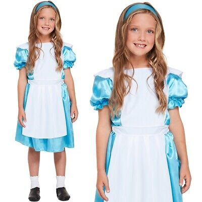 £6.75 • Buy Girls Alice In Wonderland Fancy Dress Costume Childs Book Day Outfit New H