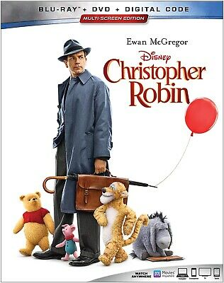 $7.59 • Buy Christopher Robin (Blu-ray Disc ONLY, *Former Library Rental*, 2018)