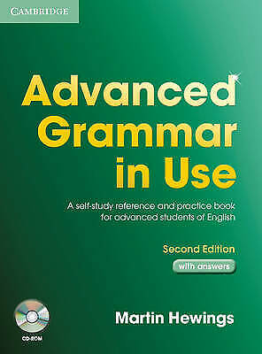 £14.20 • Buy Advanced Grammar In Use With CD ROM-Martin Hewings