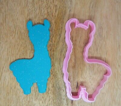 AU7.95 • Buy Alpaca Or Llama 9cm Cookie Cutter Valentine's Day Birthday Party Favour
