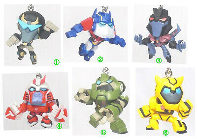 Transformers - Animated Transformers Figure Keychain By Takara Tomy Capsule Toy • 33.90£