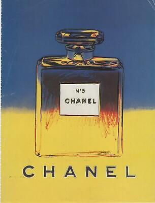 $30 • Buy Chanel N°5 By Andy Warhol Print Vogue Magazine Ad 1997