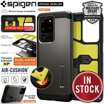 AU34.99 • Buy For Samsung Galaxy S20/Plus/Ultra Case SPIGEN Tough Armor SHOCKPROOF Hard Cover