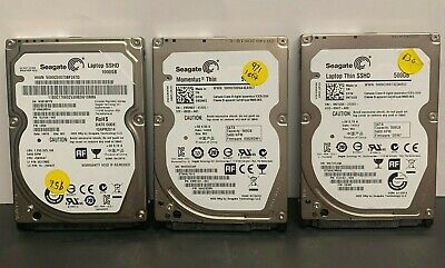 $ CDN39.76 • Buy Lot Of 3 Seagate Various Sized High Hour 2.5  SATA Hard Drives For Laptops