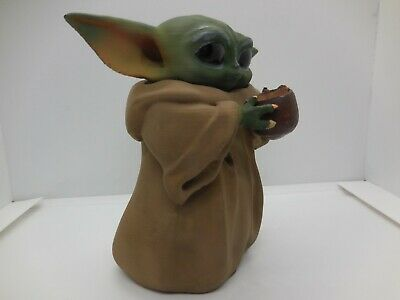$25 • Buy Figure Baby Yoda Figurine Mandalorian Star Wars