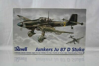 $14.96 • Buy Junkers Ju 87 D Stuka Plastic Model Airplane Kit Revell 1:48 2006