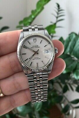 AU2350 • Buy Tudor Prince OysterDate Watch Rolex Case 74034 - 1988 Vintage - Newly Serviced!