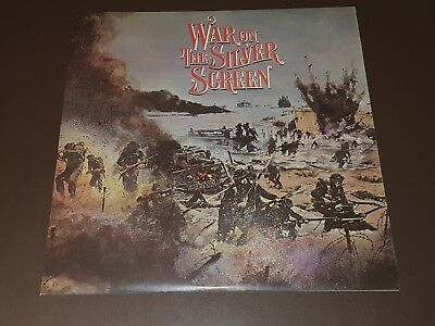 WAR ON THE SILVER SCREEN--12inch LP 33RPM Album With Good Inner&ex Outer Sleeve. • 4£