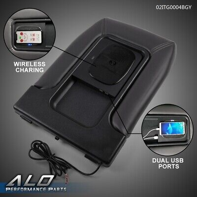 $55.85 • Buy Center Console Wireless Charger USB Port Dual Charging For 99-07 Silverado GM