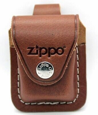 $10.95 • Buy Zippo Brown Leather Lighter Pouch