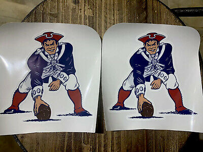 $14.99 • Buy New Englands Patriots Throwback Helmet Decals ONLY/NO Stripes