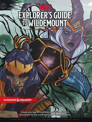 AU65.95 • Buy Dungeons & Dragons Explorers Guide To Wildemount NEW