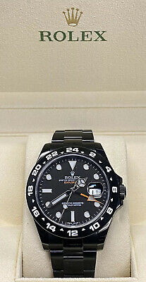 $ CDN13239 • Buy ♛ Rolex ♛ Explored Ii 42mm Black Dlc Coated Ref#.  216570  Unworn! Free Shipping