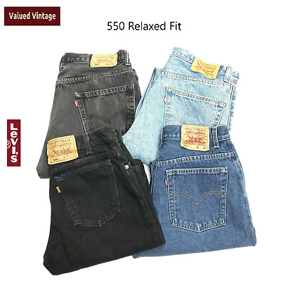 £27.95 • Buy Vintage Levis 550 High Waisted Womens Grade A Relaxed Mom Jeans 29 30 31 32 34
