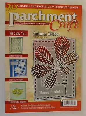 Parchment Craft Magazine September 2015 Pre-Owned Excellent Condition • 3.25£