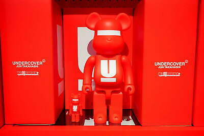 $315.76 • Buy MEDICOM TOY BE@RBRICK UNDERCOVER LOGO 100% & 400% Bearbrick Figure UCX9Z01-1