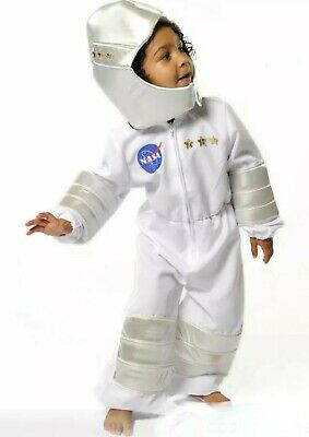 Childrens Girls Boys 3 - 5  Years Astronaut Costume By Pretend To Bee • 17.99£