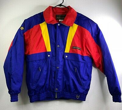 $69.94 • Buy Vintage 80s 90s Descente Waterproof Windbreaker Color Block Ski Retro Jacket XL