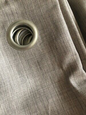 Next Curtains 228 X 229 - Beige - Used - Linned • 4.50£