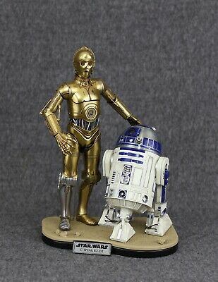 $ CDN47.64 • Buy DISPLAY STAND For Hot Toys Star Wars 1/6 R2-D2 And Sideshow C-3PO