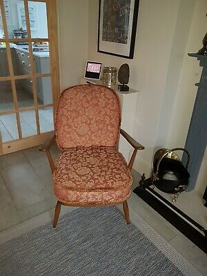 Vintage Ercol Windsor Armchair 204...retro Very Stylish Chair 2 ( Available ) • 100£