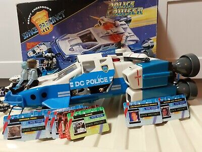 Space Precinct Police Cruiser, Police Bike And Accessories  • 45.99£