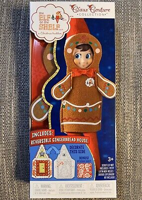 AU19.33 • Buy The Elf On The Shelf Claus Couture Jolly Gingerbread Outfit Activity Set NEW