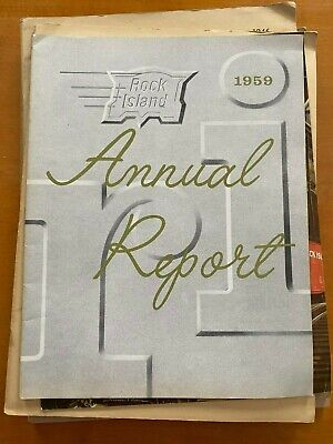 $10.55 • Buy The Chicago , Rock Island And Pacific Railway Company Annual Reports